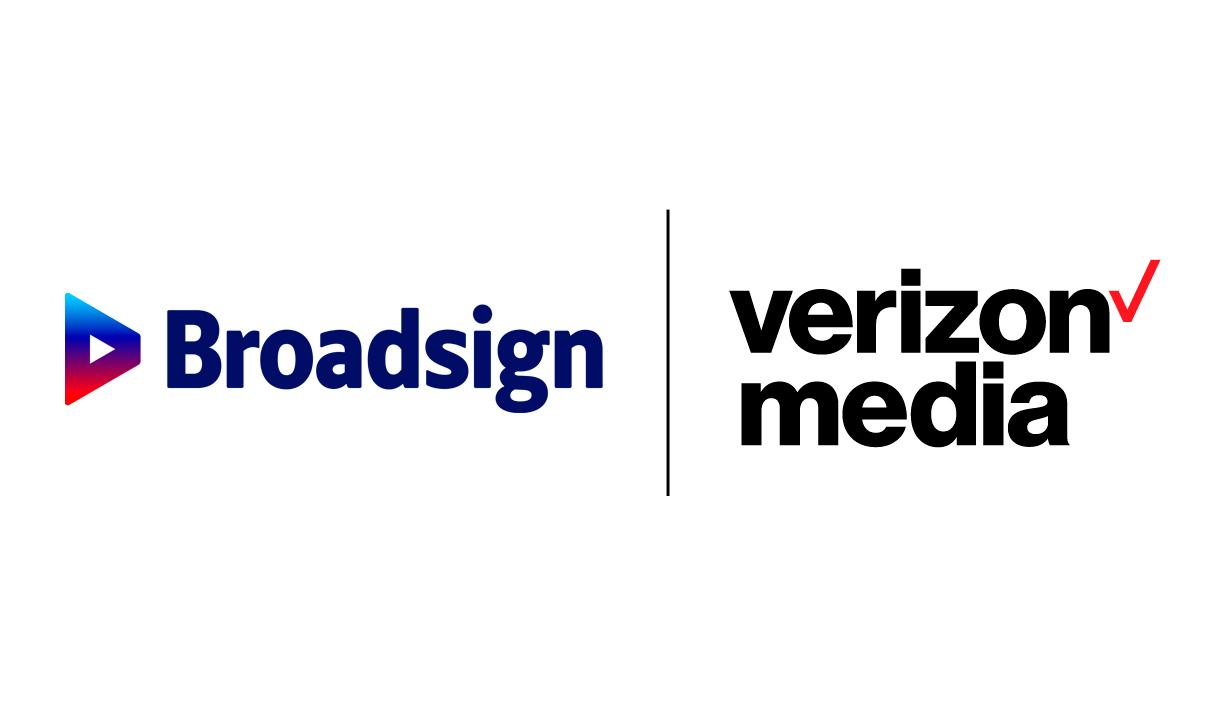 Broadsign and Verizon Media Partnership