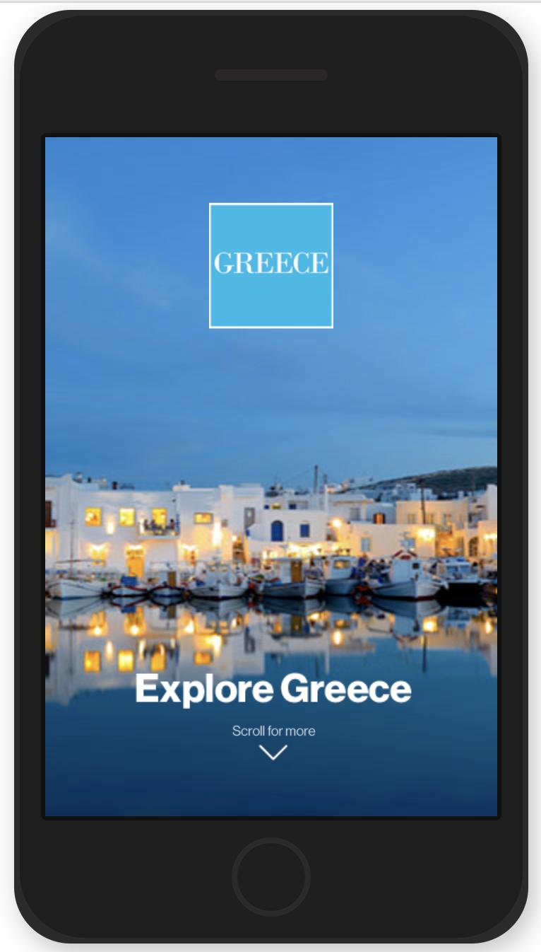 Explore Greece creative