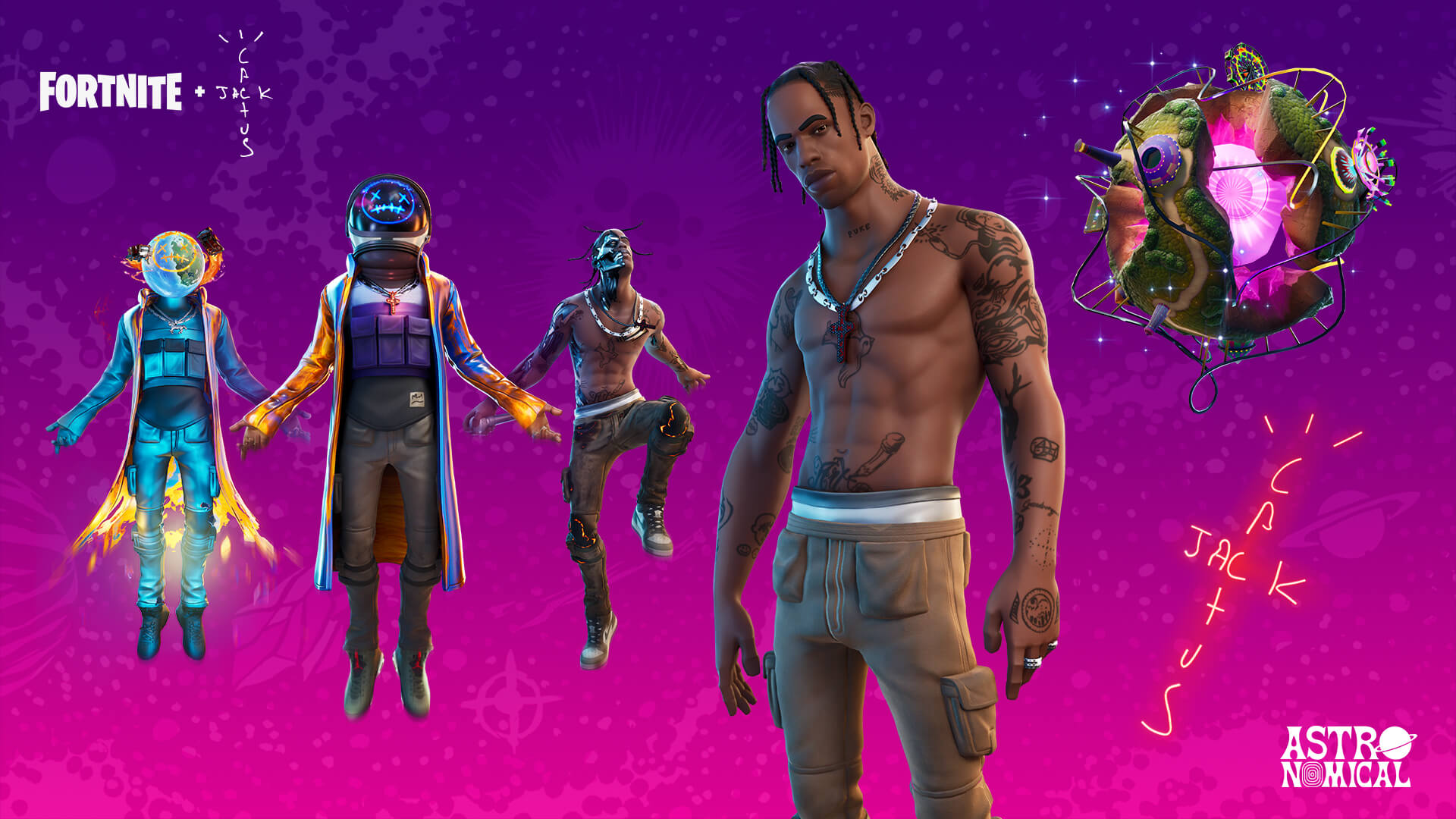 Epic Games 'Fortnite' / Travis Scott 'Astronomical'
