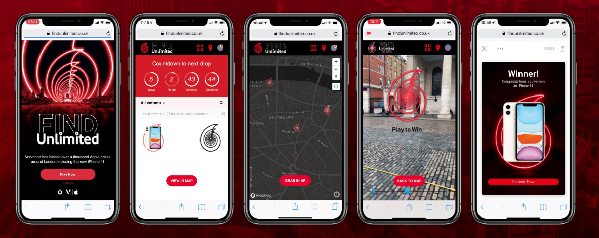 Vodafone Find Unlimited Mobile Experience
