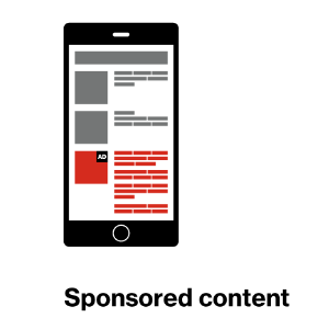 Native Advertising - Sponsored Content