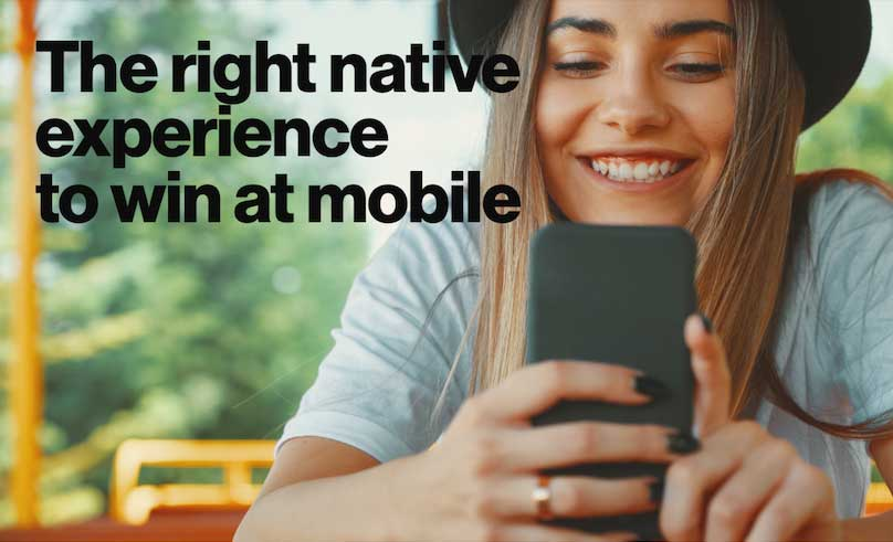Native to win at mobile