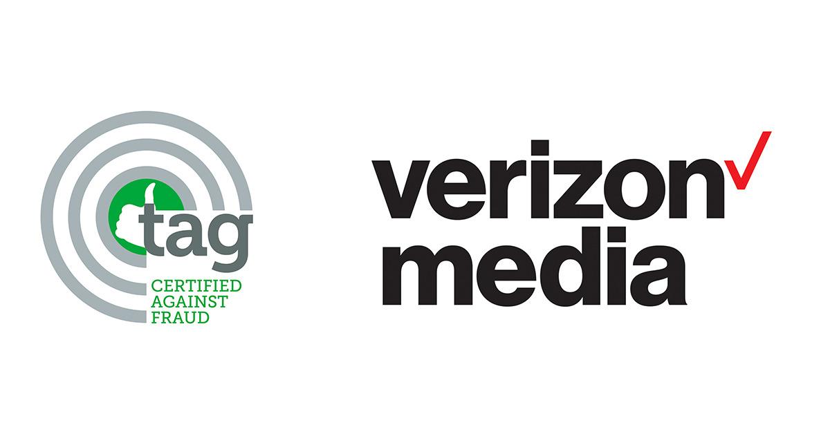Verizon Media DSP 通過 TAG 防詐騙認證計畫