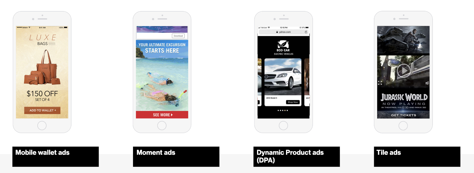 native advertising - mobile formats
