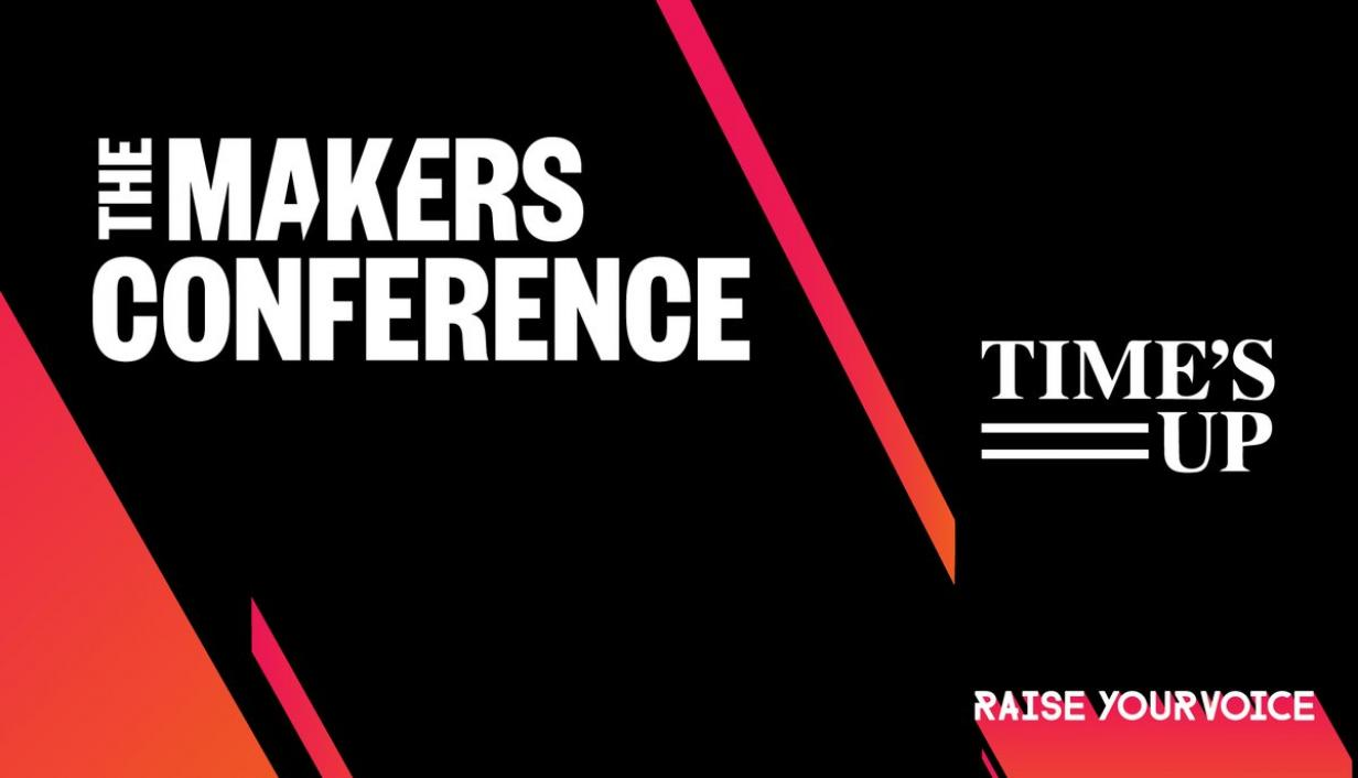 TIME'S UP to join The 2018 MAKERS Conference
