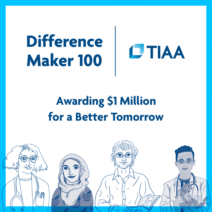 TIAA and Oath Team Up to Launch Difference Maker 100 Program