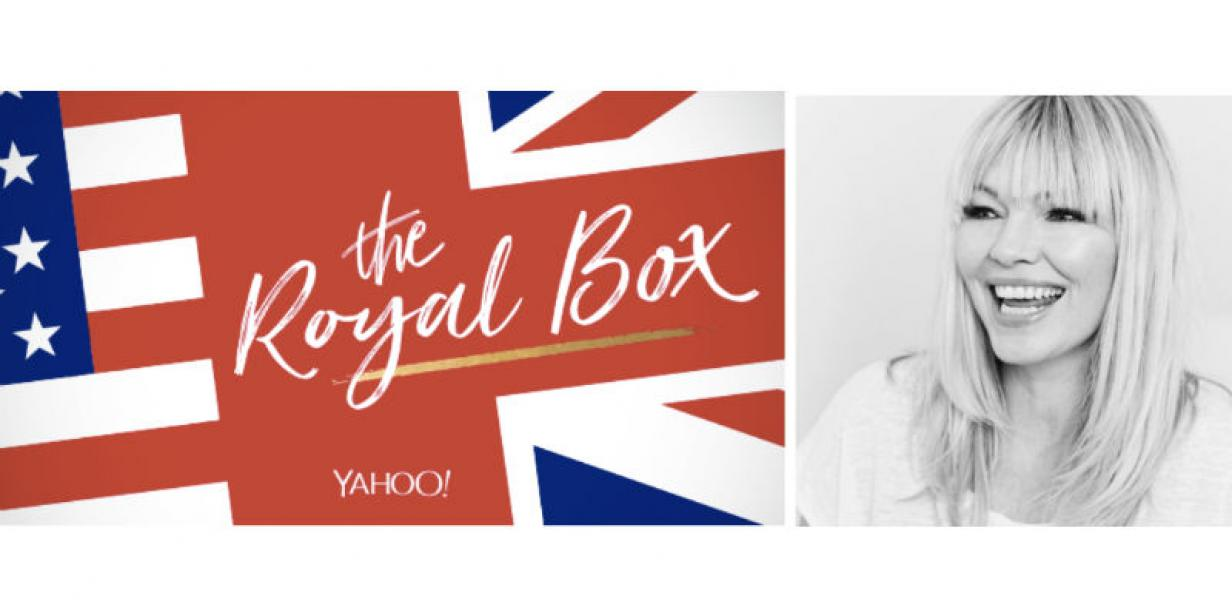 Stream Yahoo Live Series 'The Royal Box' on May 19th with UK broadcaster Kate Thornton