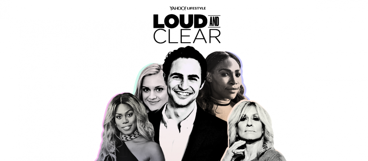 "Yahoo Lifestyle Launches ""Loud and Clear"" Miniseries with Designer Zac Posen"