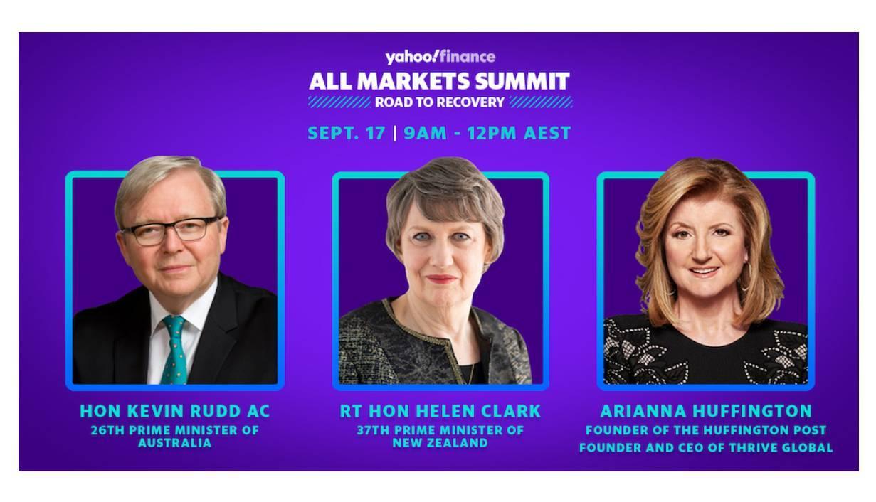 Kevin Rudd, Helen Clark, Arianna Huffington