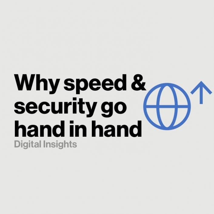 Why performance, speed, and cloud security all go hand-in-hand