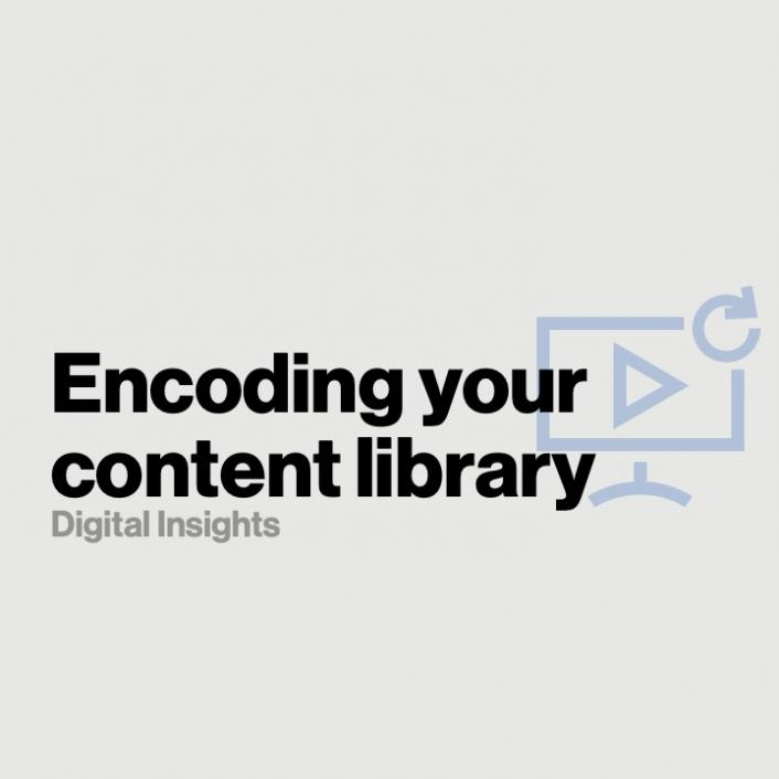 Encoding your content library for video on demand