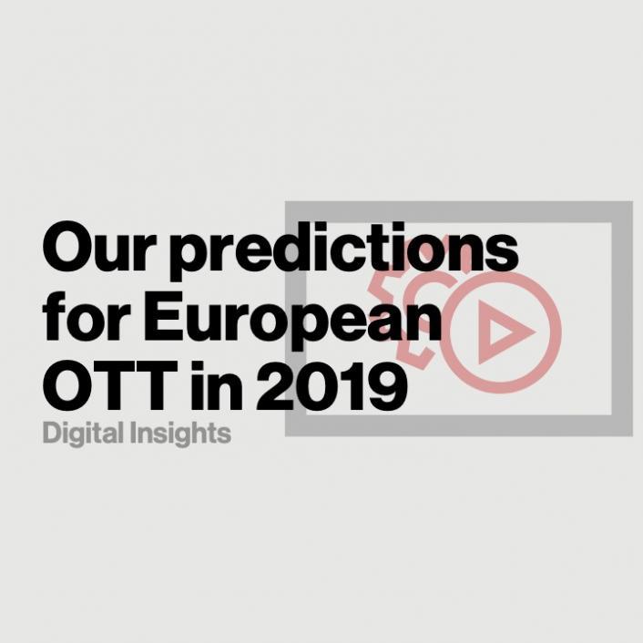 How the European OTT landscape will evolve in 2019