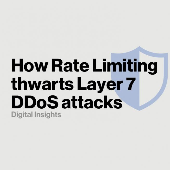How Rate Limiting thwarts Layer 7 DDoS attacks