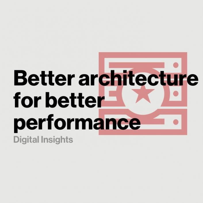 A modern network architecture delivers better CDN performance