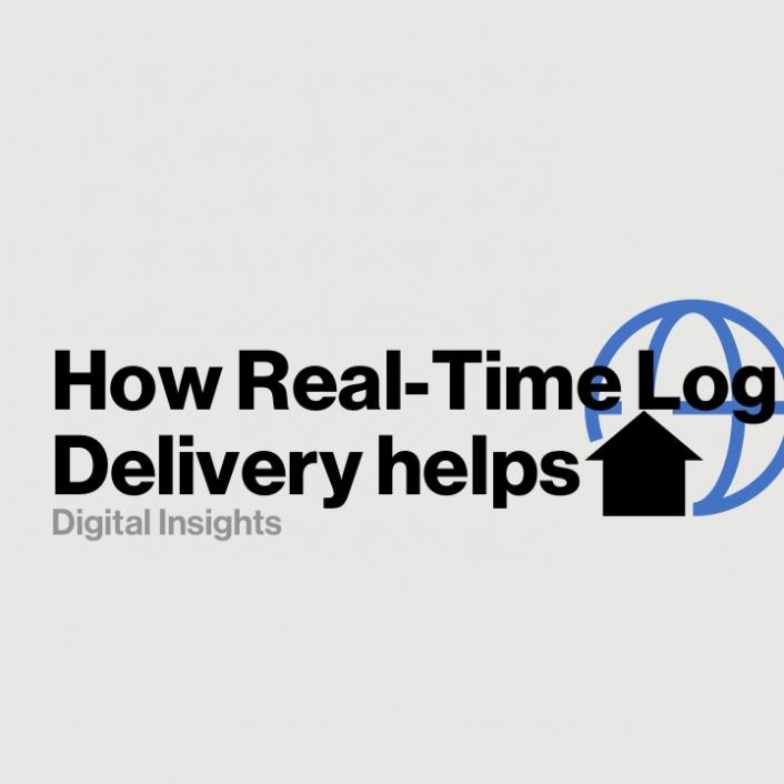 How Real-Time Log Delivery helps your business with data and analytics