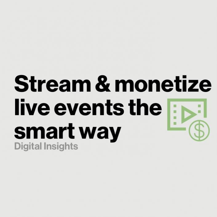 How to stream and monetize live sports the smart way
