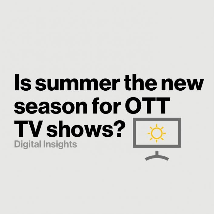 Summertime TV Streaming: Is summer the new season for OTT?