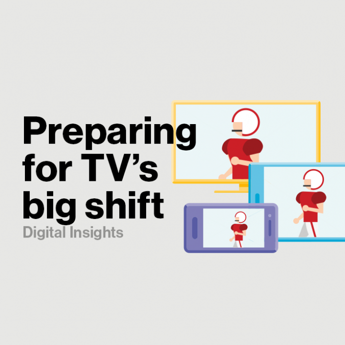 Getting into gear for the TV industry's big shift