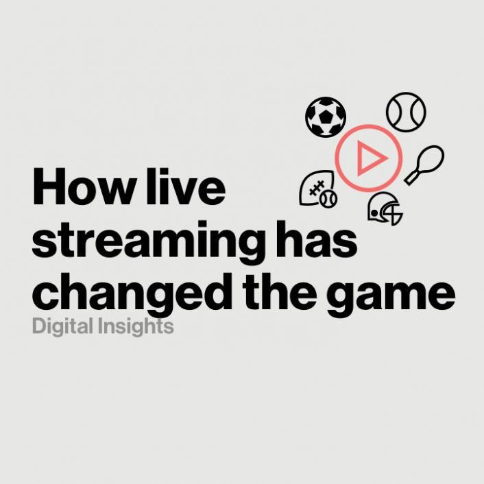 How Streaming Live Sports has Forever Changed the Game