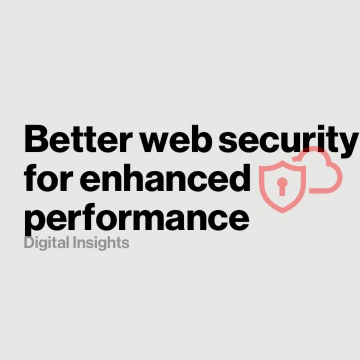 Better website security for enhanced web performance