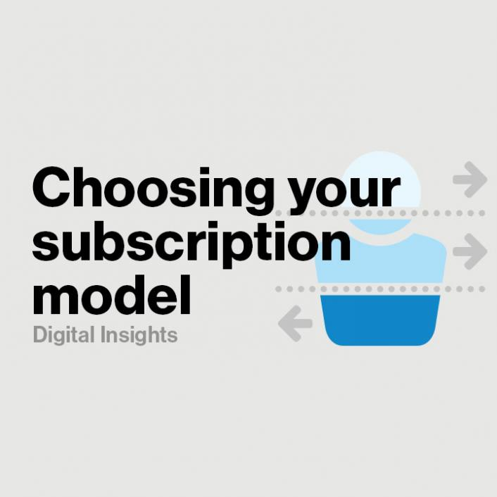 How to choose the right streaming video subscription model