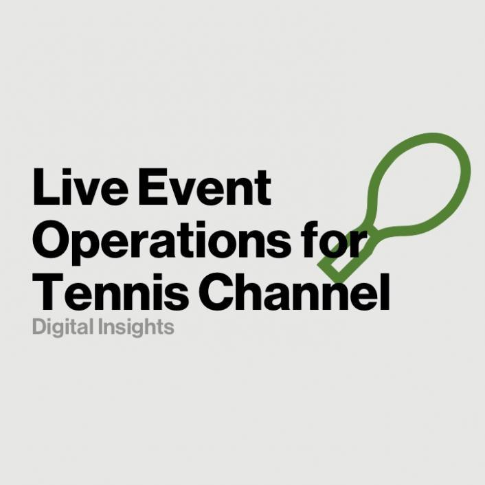 Tennis Channel Selects Verizon Digital Media Services to Power 2,000+ Matches - Verizon Digital Media Services