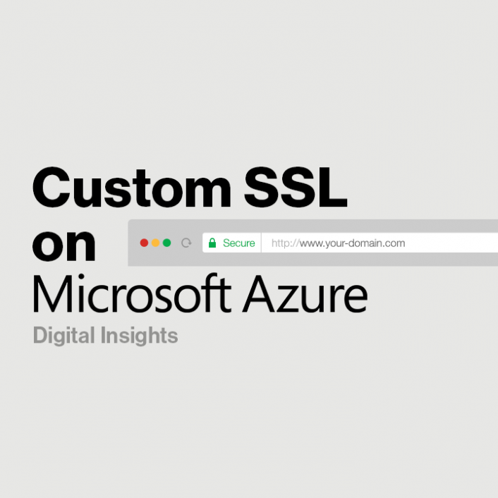 Custom SSL, Powered by Verizon Digital Media Services, Now on Microsoft Azure - Verizon Digital Media Services