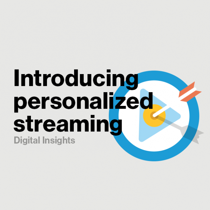 Building Out the Personalized Streaming Experience - Verizon Digital Media Services