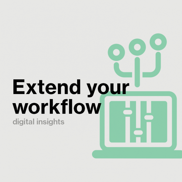 Extend Your Workflow: The First Step to Become the Broadcaster of Tomorrow