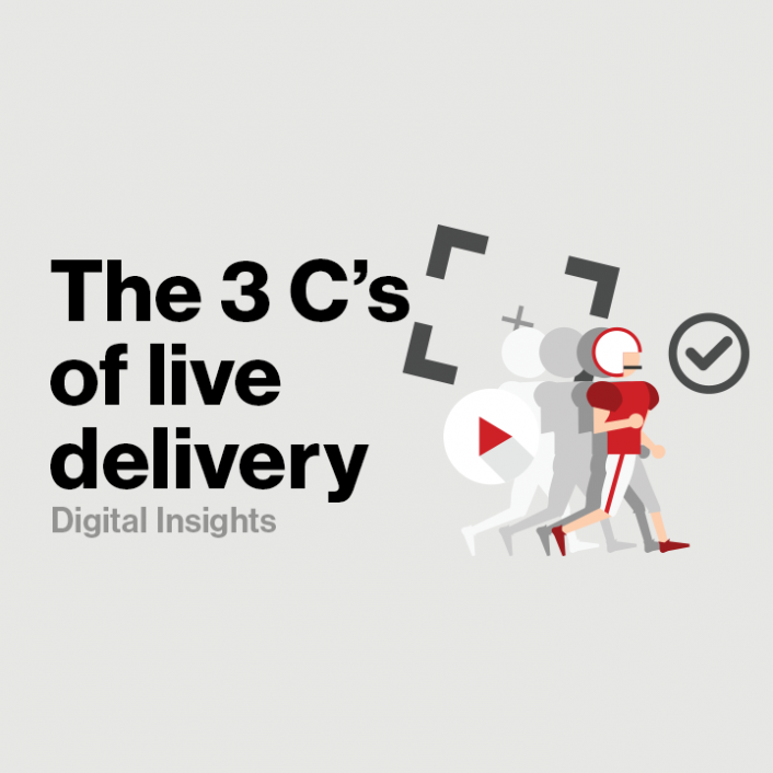 The 3 Cs of Live Delivery (Capture, Carriage, Compliance) - Verizon Digital Media Services