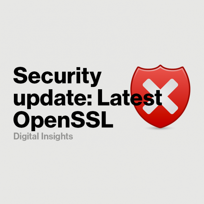Security Update: CDN Updated to OpenSSL Library Ver. 1.0.2