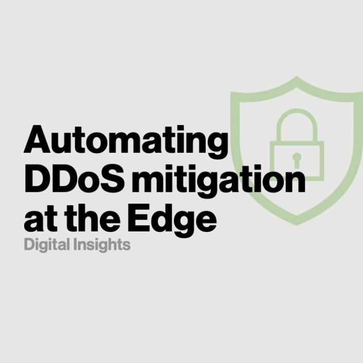 Stonefish - Automating DDoS Mitigation at the Edge