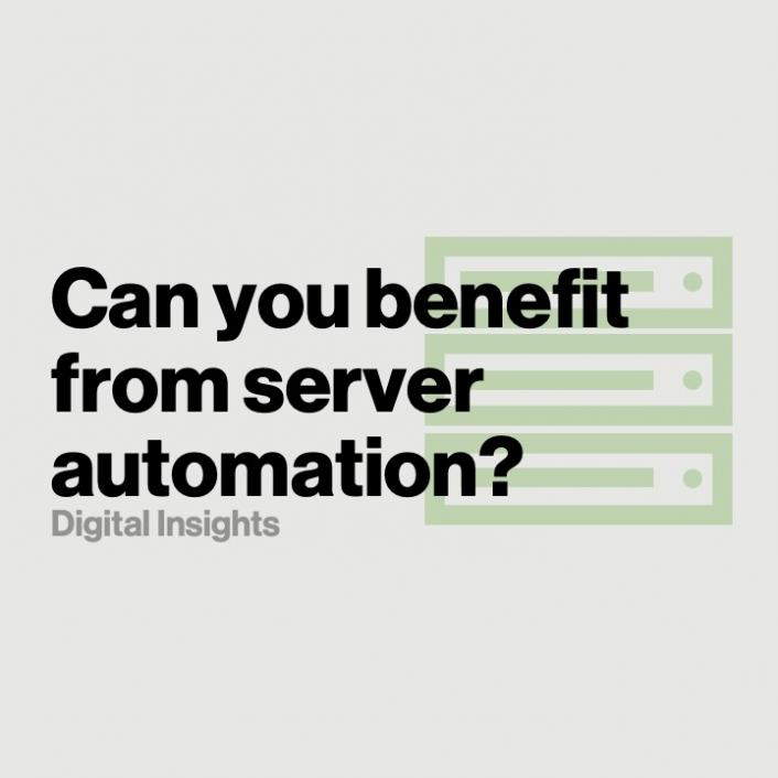 Can you benefit from server automation?