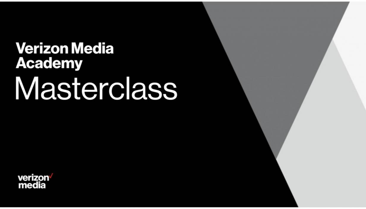 Verizon Media Academy Masterclasses returns for 2021