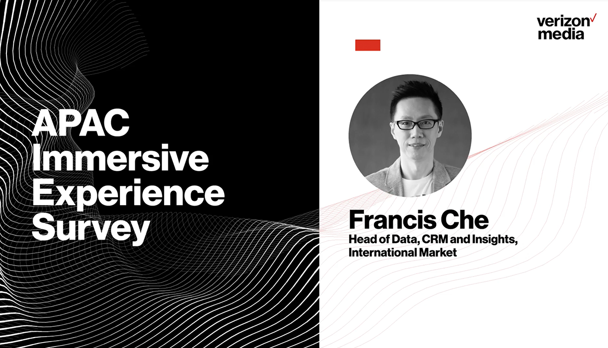 APAC Insights: Immersive Experience Survey